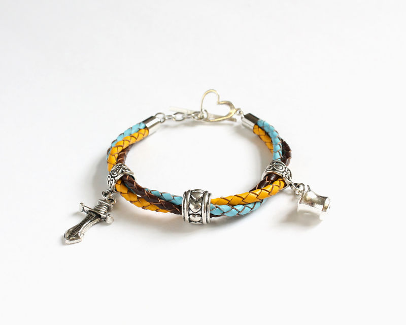 Rumbelle Leather Bracelet (OUAT) - product images  of