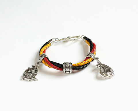 Captain Swan Leather Bracelet (OUAT) - product images  of