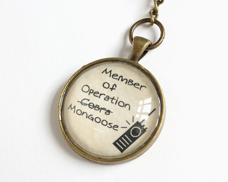 Operation Mongoose Key Chain (OUAT) - product images  of