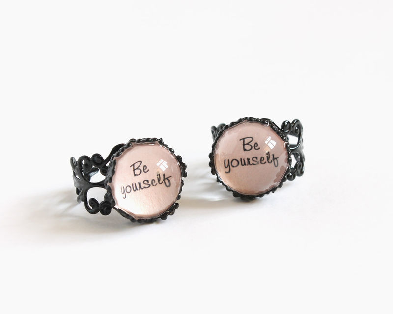 Be yourself ring - product images  of