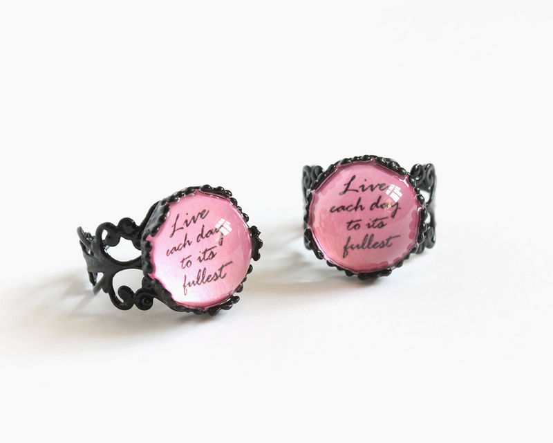 Live each day to its fullest ring - product images  of