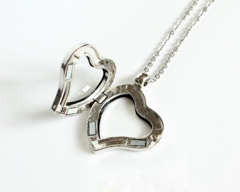 Heart Shape Floating Locket (Memory Locket) - product images  of