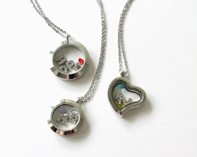 Birthstone for Floating Locket (Memory Locket) - product images  of