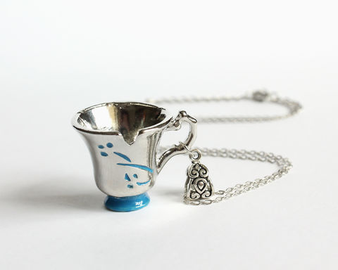 Chipped,Cup,Necklace,(OUAT),chipped cup necklace, belle necklace, belle cup necklace, rumbelle necklace, chipped cup jewelry, once upon a time belle necklace, once upon a time necklace, ouat necklace