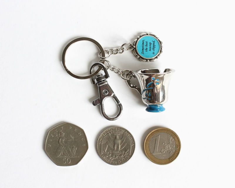 Chipped Cup Best Teacup Key Chain (OUAT) - product images  of