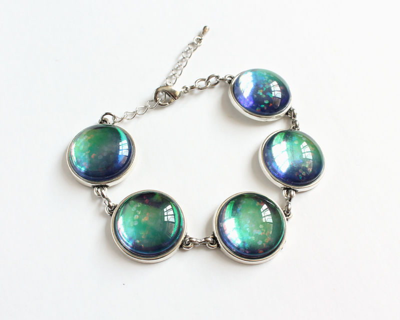 Dichroic Link Bracelet - product images  of