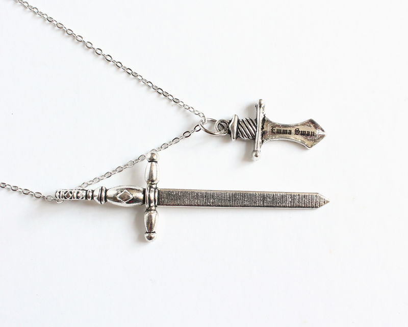 Excalibur and Dark One's Dagger Necklace (OUAT) - product images  of
