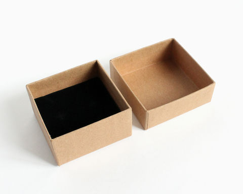 Kraft Gift Box with Insert - product images  of