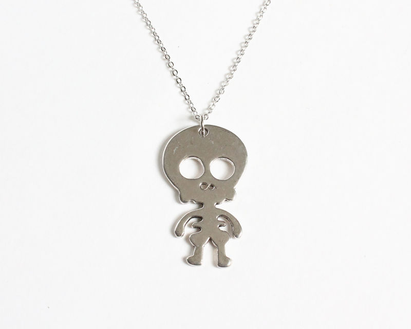 Cute Skeleton Baby Necklace - product images  of