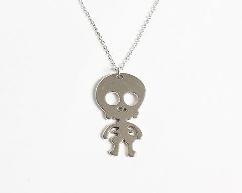 Cute,Skeleton,Baby,Necklace,skeleton baby necklace, cute skeleton necklace, baby skeleton necklace, silver skeleton necklace, adorable skeleton necklace, skeleton pendant necklace