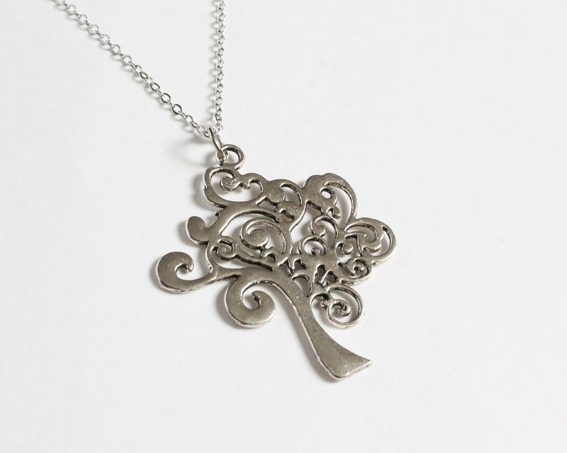 Curvy Tree Necklace - product images  of