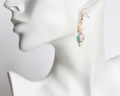 Mini Hot Air Balloon Earrings - product images  of