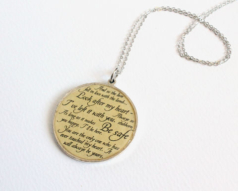 Edward,Quotes,Necklace,(CLEARANCE),edward cullen, twilight quotes, edward quotes necklace, edward necklace, twilight necklace, quotes necklace