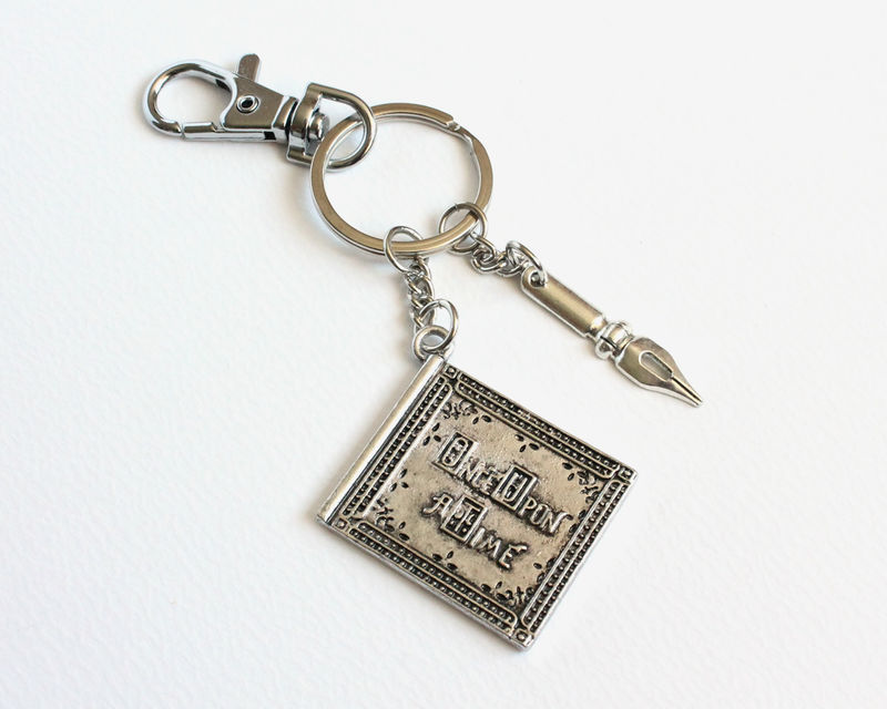 Once Upon A Time Book and Author's Pen Key Chain (OUAT) - product images  of