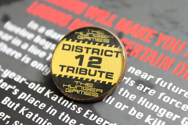 District 12 Tribute Badge (CLEARANCE) - product images  of