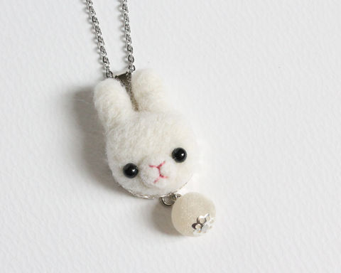 Needle,Felted,Wool,White,Rabbit,necklace,or,brooch,ring,shawl,pin,needle felted white bunny, needle felted white rabbit, wool felted white bunny, wool felted white rabbit, white bunny necklace, white bunny ring, white bunny brooch, white bunny shawl pin, white bunny scarf pin, white rabbit necklace, white rabbit ring, w