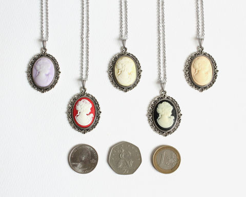 Small Cameo Necklace - product images  of