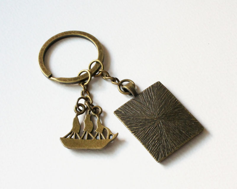 Set Sail to Neverland Key Chain - product images  of