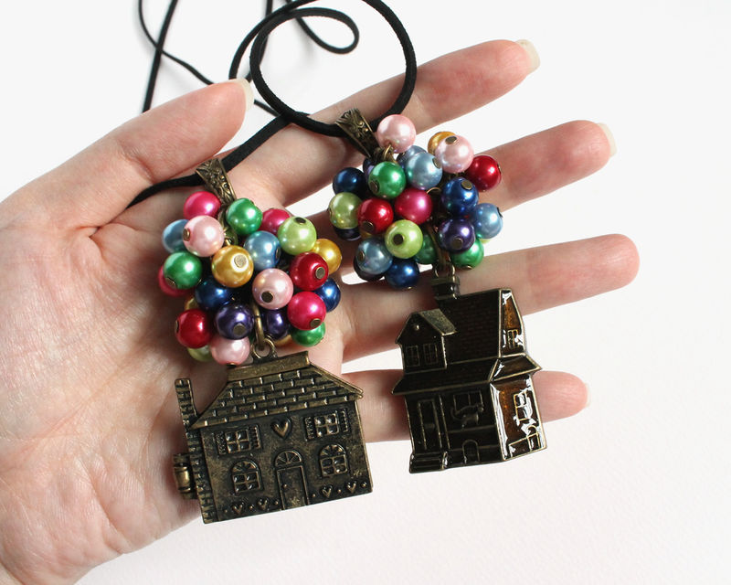 Flying House Long Necklace - product images  of