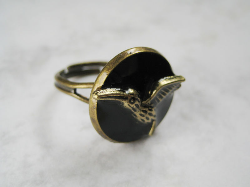 Bronze Bird Ring - product images  of