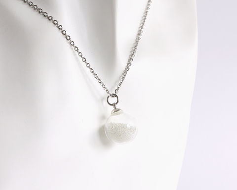 Tiny Bubble in Small Sphere Necklace - product images  of