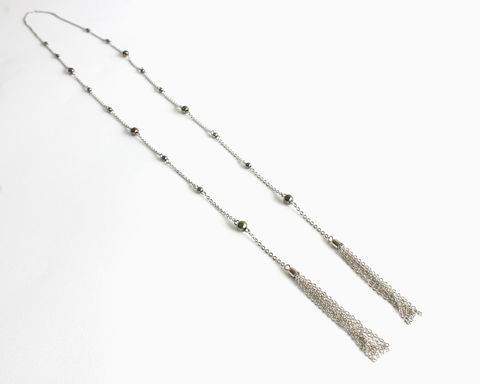 Katherine's Long Tassel Necklace (TVD) - product images  of