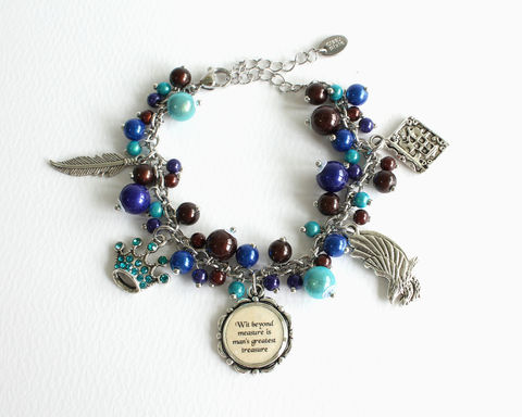 Charm Bracelet (Blue Eagle House) - product images  of