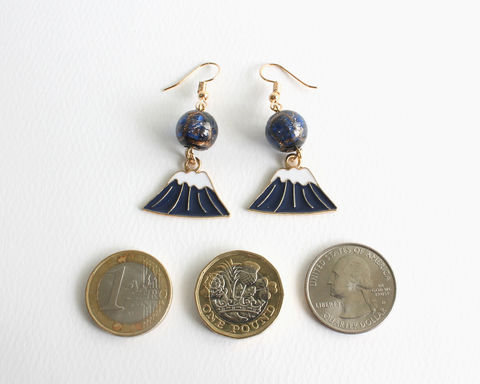 Fuji Mountain Earrings - product images  of