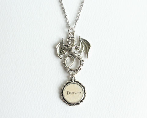 Dragon,Dracarys,Necklace,(GOT),game of thrones necklace, game of thrones jewelry, dracarys necklace, dragon dracarys necklace, dragon fire necklace, GOT dragon necklace, GOT dragon jewelry