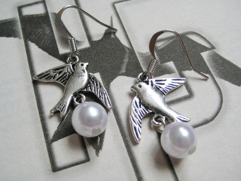Mockingbird Earrings - product images  of