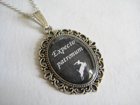 Expecto,Patronum,Necklace,expecto patronum necklace, expecto patronum jewelry, harry potter necklace