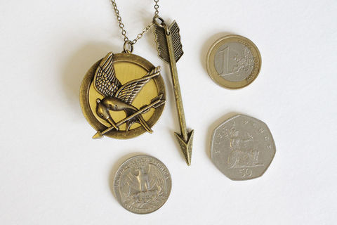 Mockingbird Locket with Arrow (CLEARANCE) - product images  of