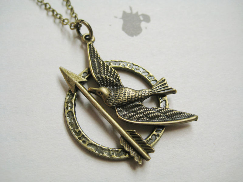 Mockingbird with arrow necklace (CLEARANCE) - product images  of