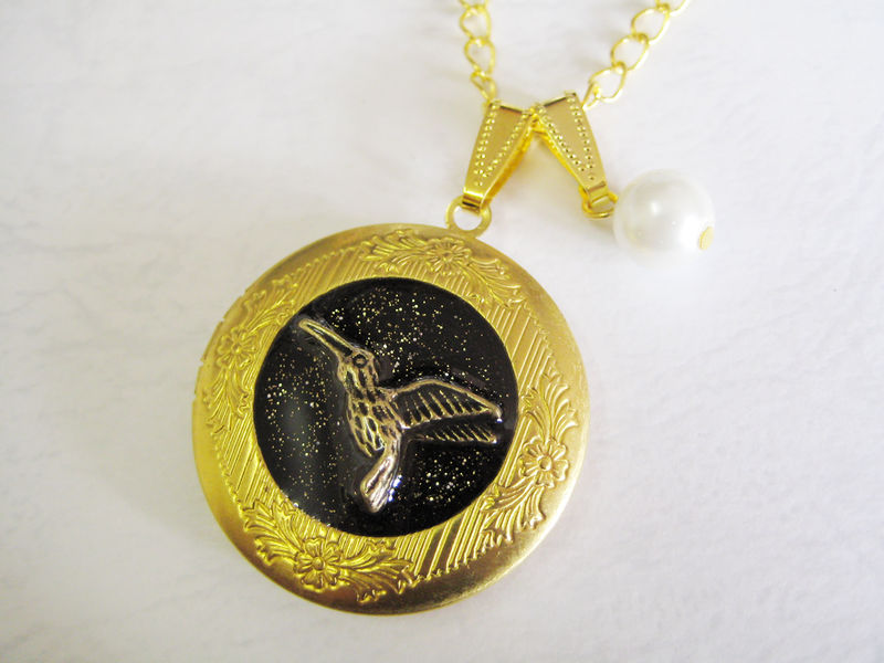 Mockingbird Locket (Peeta's Locket) (CLEARANCE) - product images  of