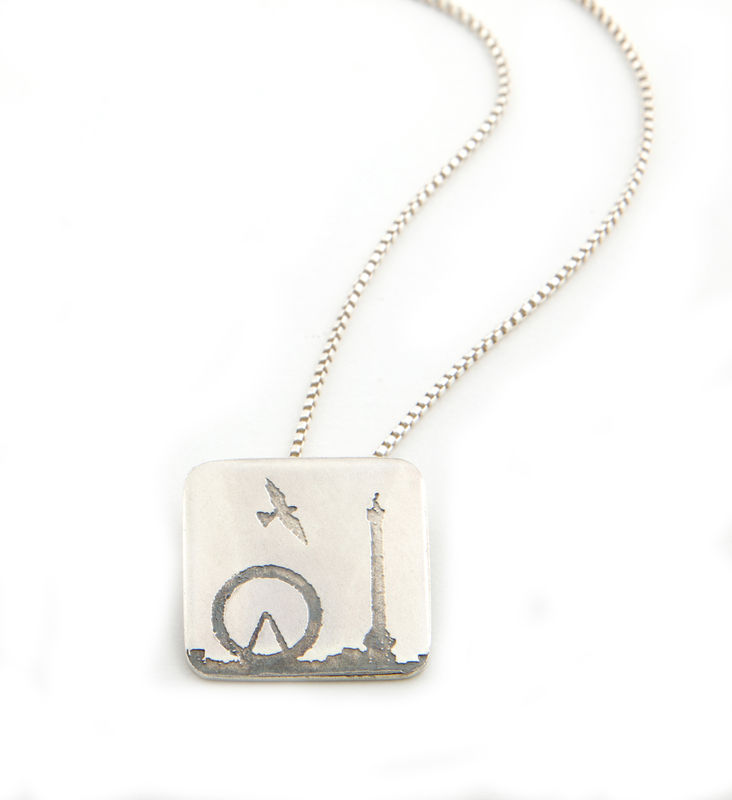London Eye and Nelson's Column Pendant - product images