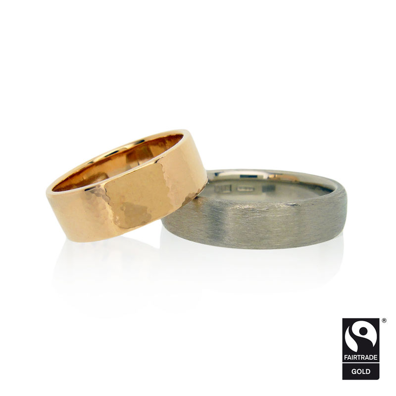Fairtrade Gold <br>Wedding Bands <br> - <i> commission only </i> - - product images