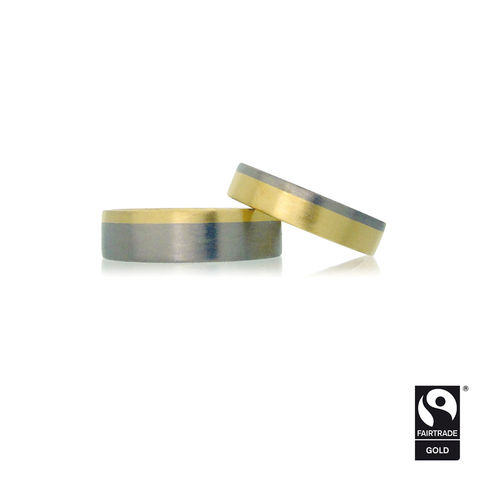Saturnian,Wedding,bands,in,Fairtrade,Gold,-,commission,only,Fairtrade Gold, alloyed, handmade, bespoke