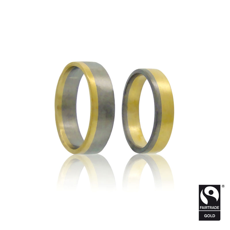 Saturnian Wedding Bands In Fairtrade Gold Br I Commission Only