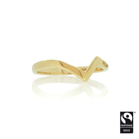 Shaped,wedding,band,in,Fairtrade,Gold,-,commission,only,Fairtrade Gold, hand-alloyed, handmade, bespoke, unique, alternative weddings