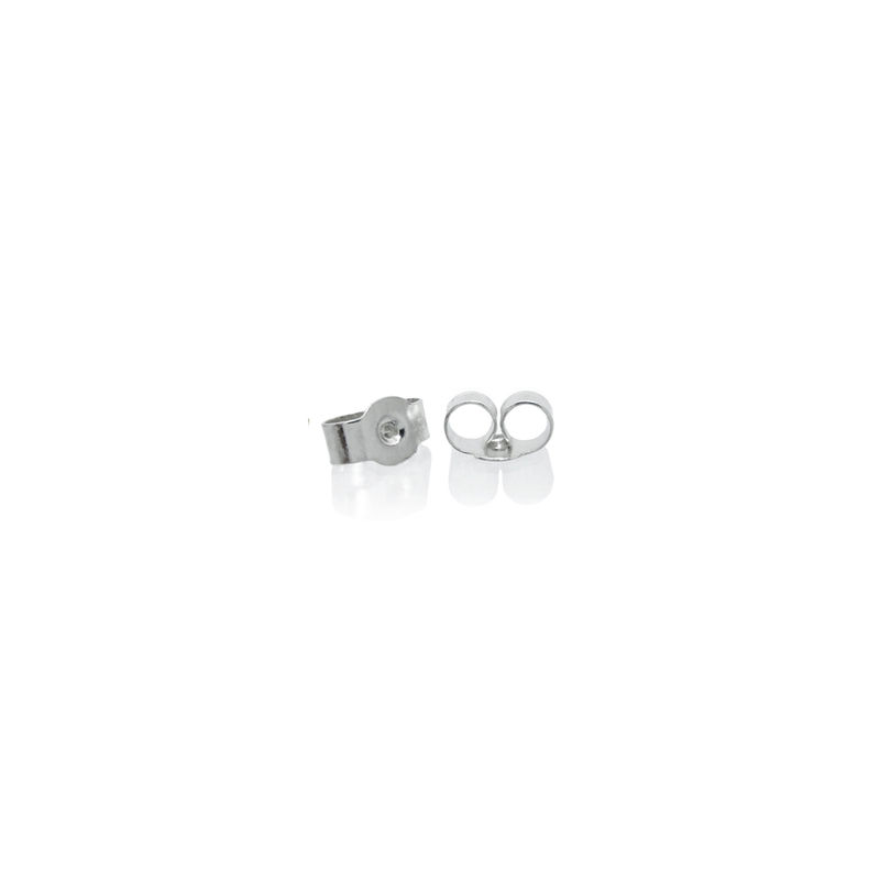 mini 'xx' earrings in silver with rubies - product images  of