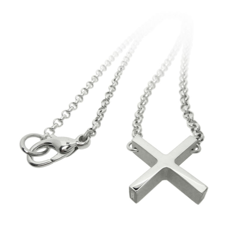 Bold 'X' necklace - product images  of