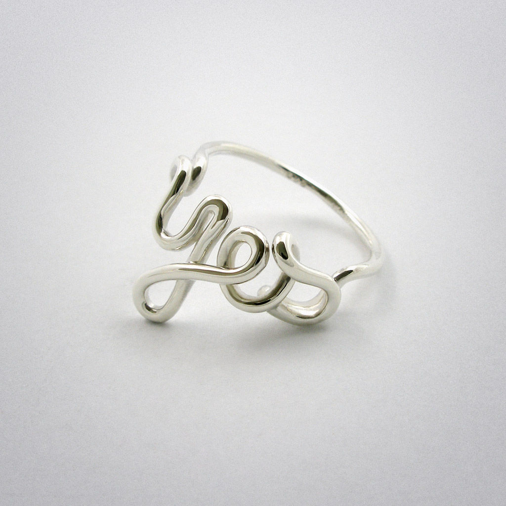 ring - Yes - Silber €180