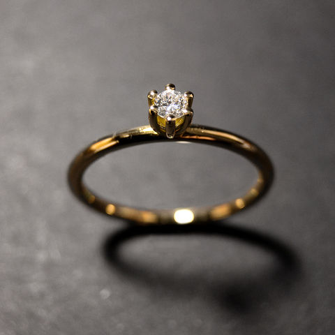 Solitär,Ring,-,Diamant,classic,two,Verlobungsring, Solitär, Diamant Ring, Verlobung, Antrag, Schmuck, Regensburg, Goldschmiede, engagement, ring