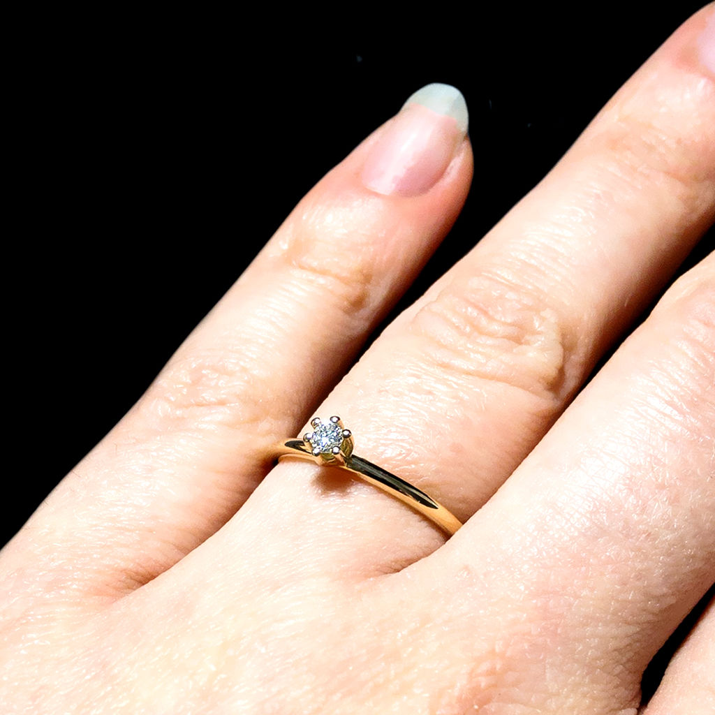 Solitär Ring - Diamant - classic - product images  of