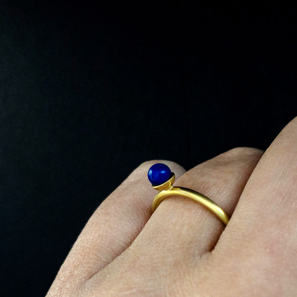 Konfetti Ring - Lapis - blau - product images  of