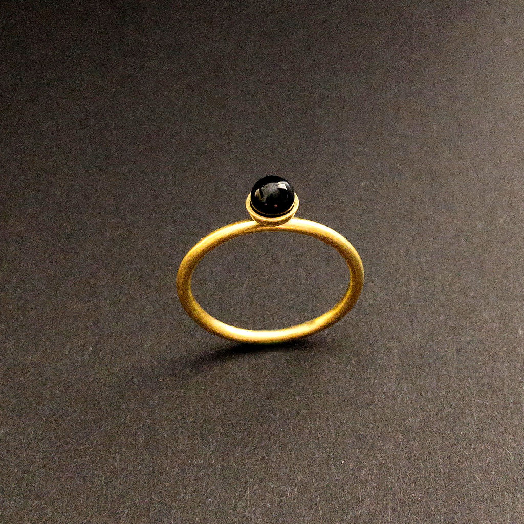 Konfetti Ring - Onyx - schwarz - product images  of