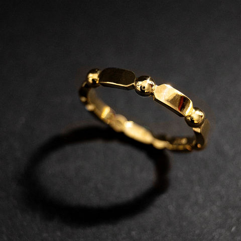 Satellite,-,Gemini,Stellite, Boho, Ring, Vorsteckring, stacking, feiner Ring, filigran, minimalistisch, Kugel, Kügelchenring, Schmuck, Regensburg, Goldschmiede, ring