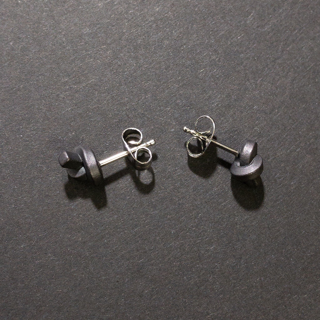 ear studs - kleiner Knoten - product images  of