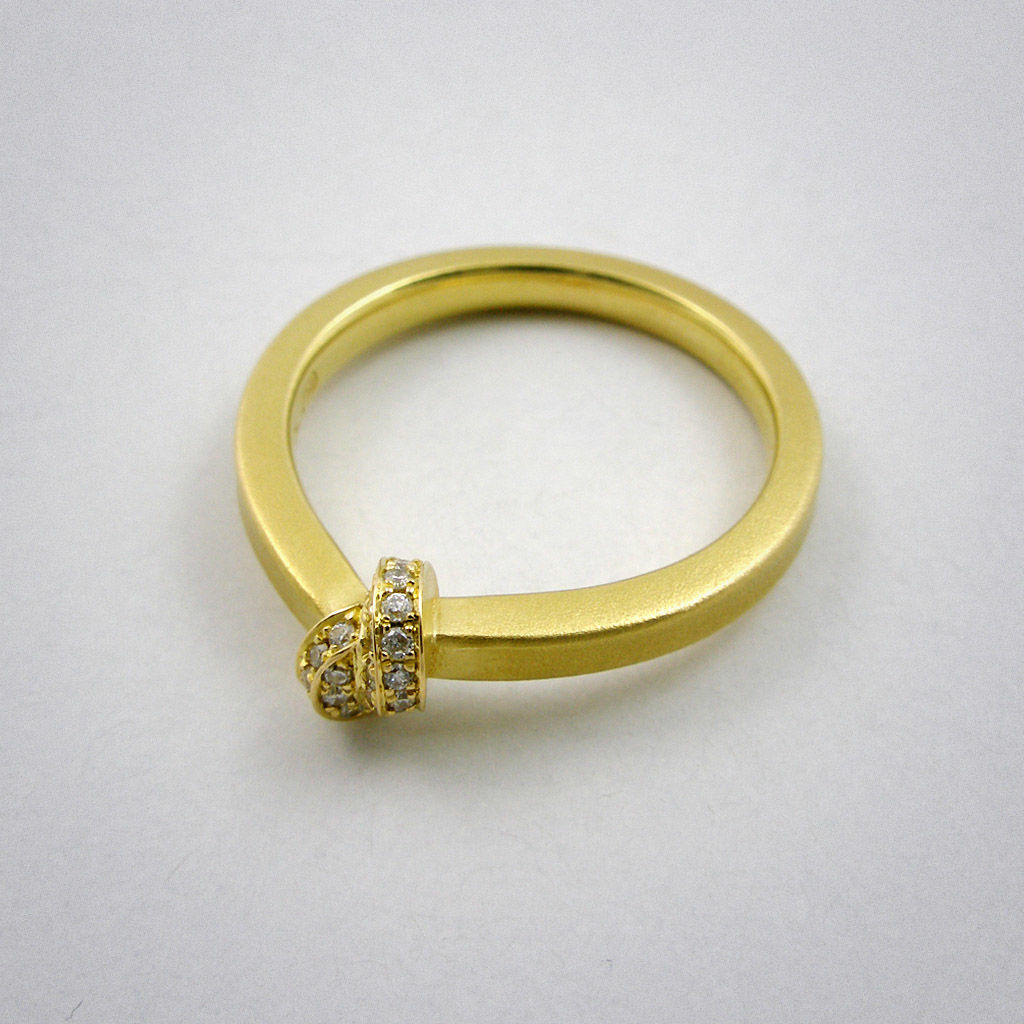 ring - Knoten - 2,5 Diamant - product images  of