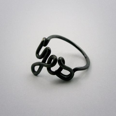 ring,-,Yes,Silber,used,look, yes, ja, 925, pour toi, Sterling, Silver, AG